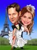 wedding in paris at eiffel tower