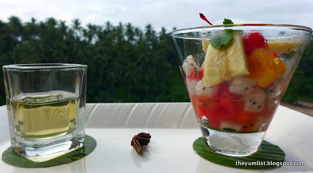 Cascades Restaurant, Breakfast, Viceroy Bali, Ubud,