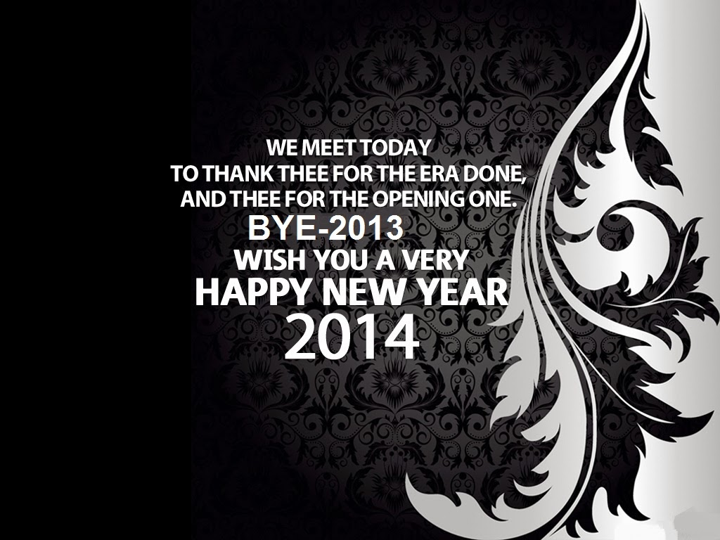 happy new year (1st january 2014) wallpapers with sms | happiness style