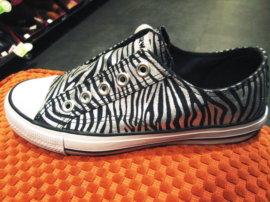 cute zebra sneakers