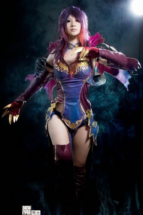 mei wai sexy aion cosplay 01