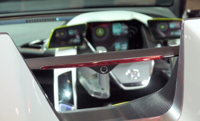 Honda EV-Ster reversing camera