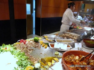 Islantilla Golf Resort, Restaurante buffet Carabelas