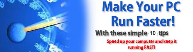 Fast Run Computer Tips