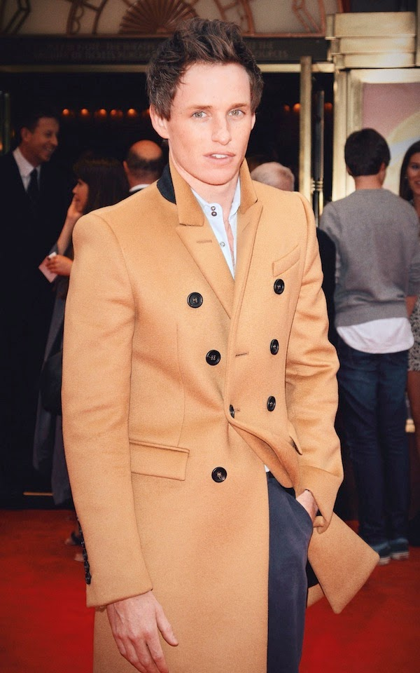 Eddie Redmayne in Burberry - 'Miss Saigon' Press Night, London