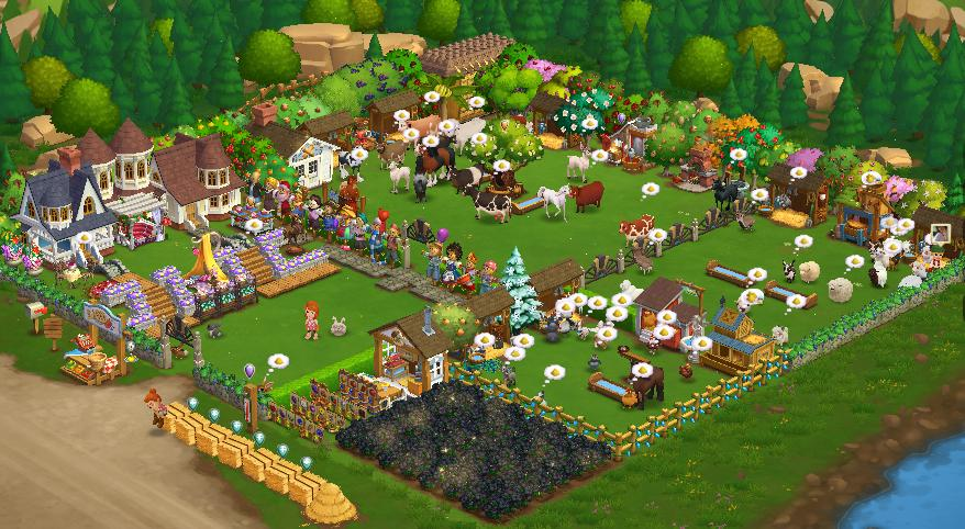 Rich in FarmVille 2