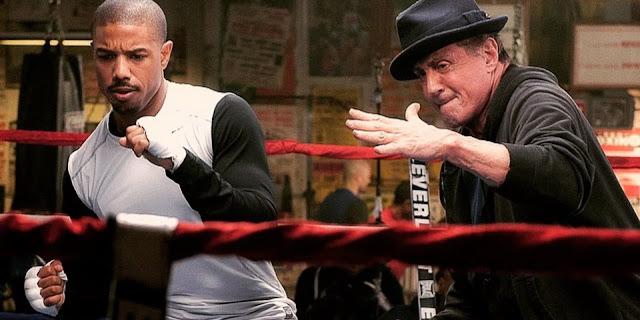 Artes nacionais e vídeo dos bastidores de Creed: Nascido para Lutar, com Sylveser Stallone