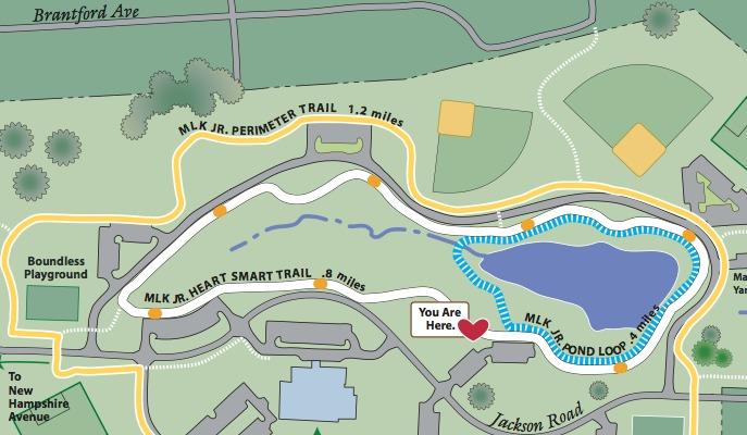 Explore Take A Ride On The Bike Paths Around Martin Luther King Community Recreation Center