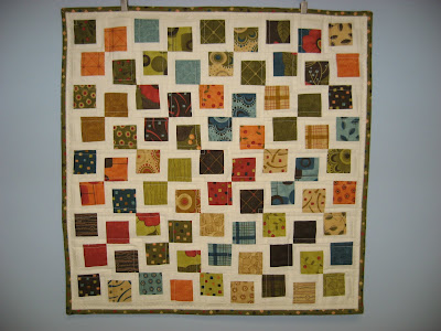 Tranquility Mini Quilt ~ Finished