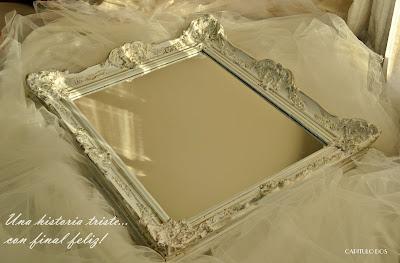Capitulo dos agosto 2012 for Pintar marco espejo