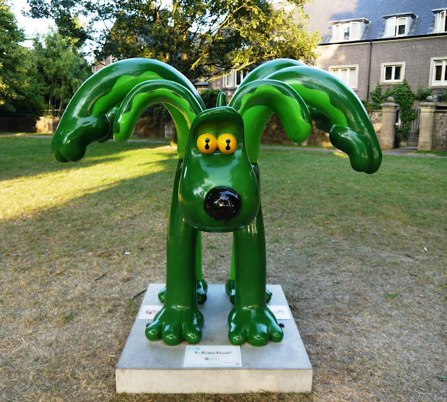 It's Kraken Gromit