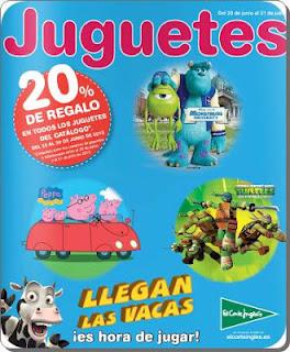 juguetes el corte ingles verano 2013