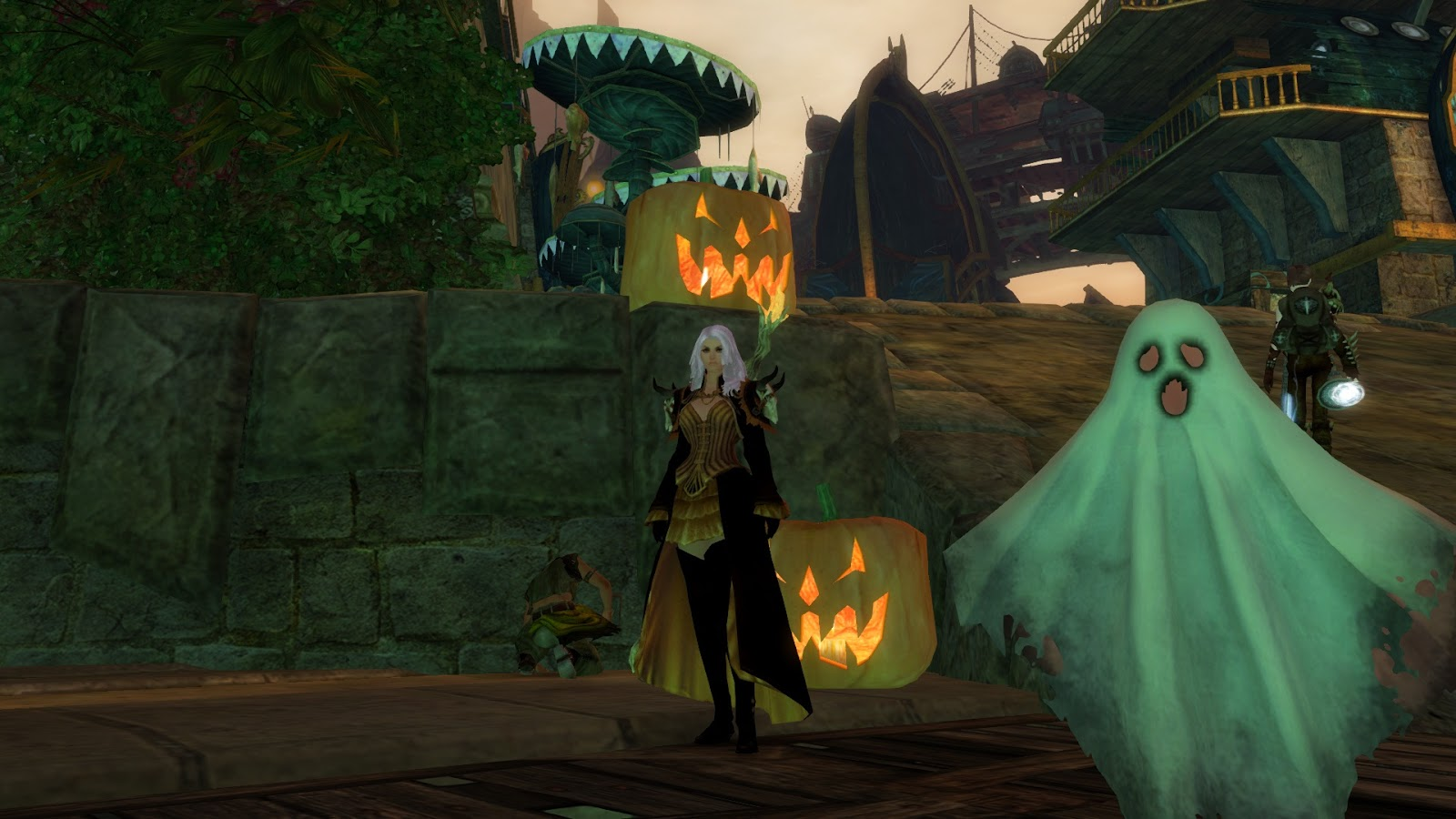 Yesterday was suppose to be the release of GW2\u0027s first content patch which also included the Halloween event. No time was really given I figured I\u0027d log in ... & ECTmmo.com- MMO Blog: The Adventures of Kaozz...: GW2- Trick OR Treat?