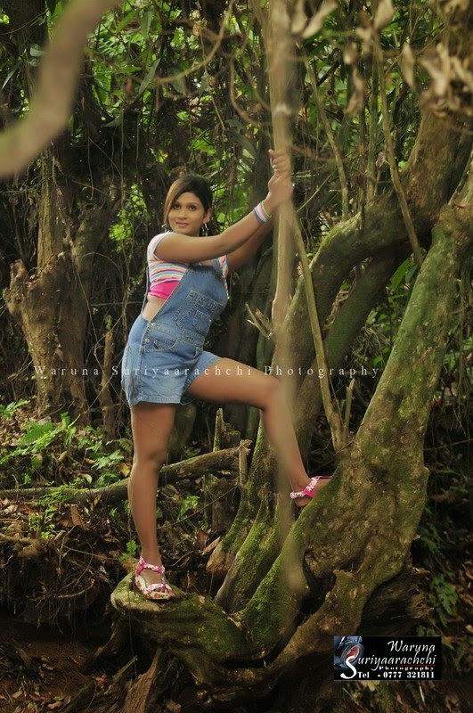 Anjula Gamage legs