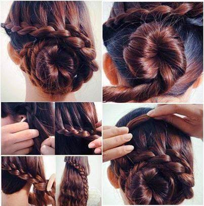 Women Hair Style Tutorials #44..