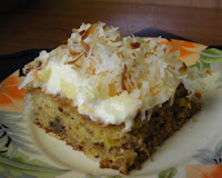 Pineapple Cake with Cream Cheese Frosting Recipe   Healthy Pineapple Cake Recipe   Bake Recipe Review