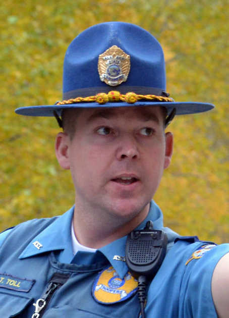 Private Officer Breaking News: Line of Duty Death Trooper