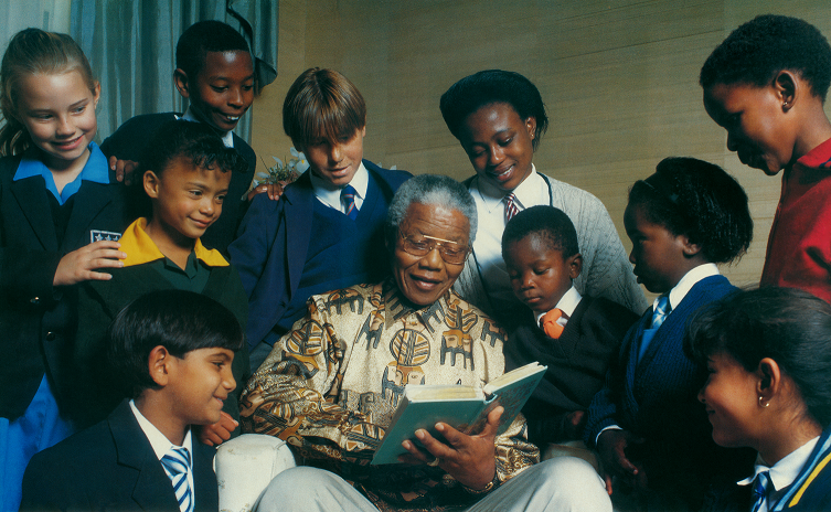 Nelson Mandela As A Child Gift Skillful Schools