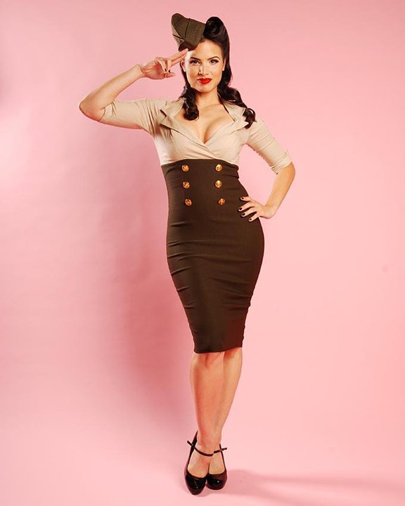 Rachael Beauty // Hair Stylist Pin Up Girl Retro Vintage ...