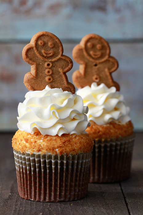 Gingerbread Cupcakes | Cook'n is Fun - Food Recipes, Dessert, & Dinne...