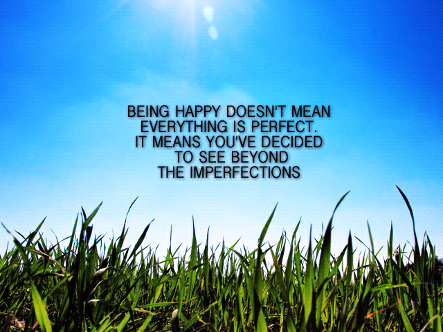 Being Happy Quotes And Sayings. QuotesGram