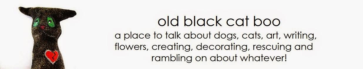 Old Black Cat Boo