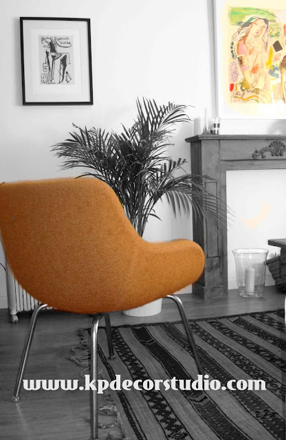 Venta objetos de decoración vintage, comprar silla, butaca, sillón, tienda online valencia-españa