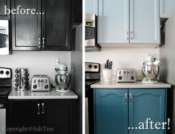 Kitchen Cabinets Before After