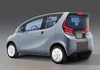 Tata eMO EV Concept (2012) Rear Side
