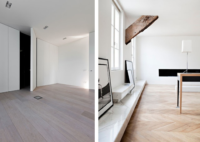 Inspiraci n tarima de madera y muebles a medida para una for Casas de madera a medida