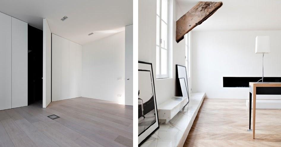 Inspiraci n tarima de madera y muebles a medida para una for Medidas de muebles de una casa