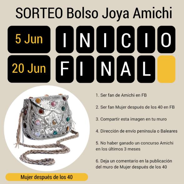 Sorteo bolso joya Amichi