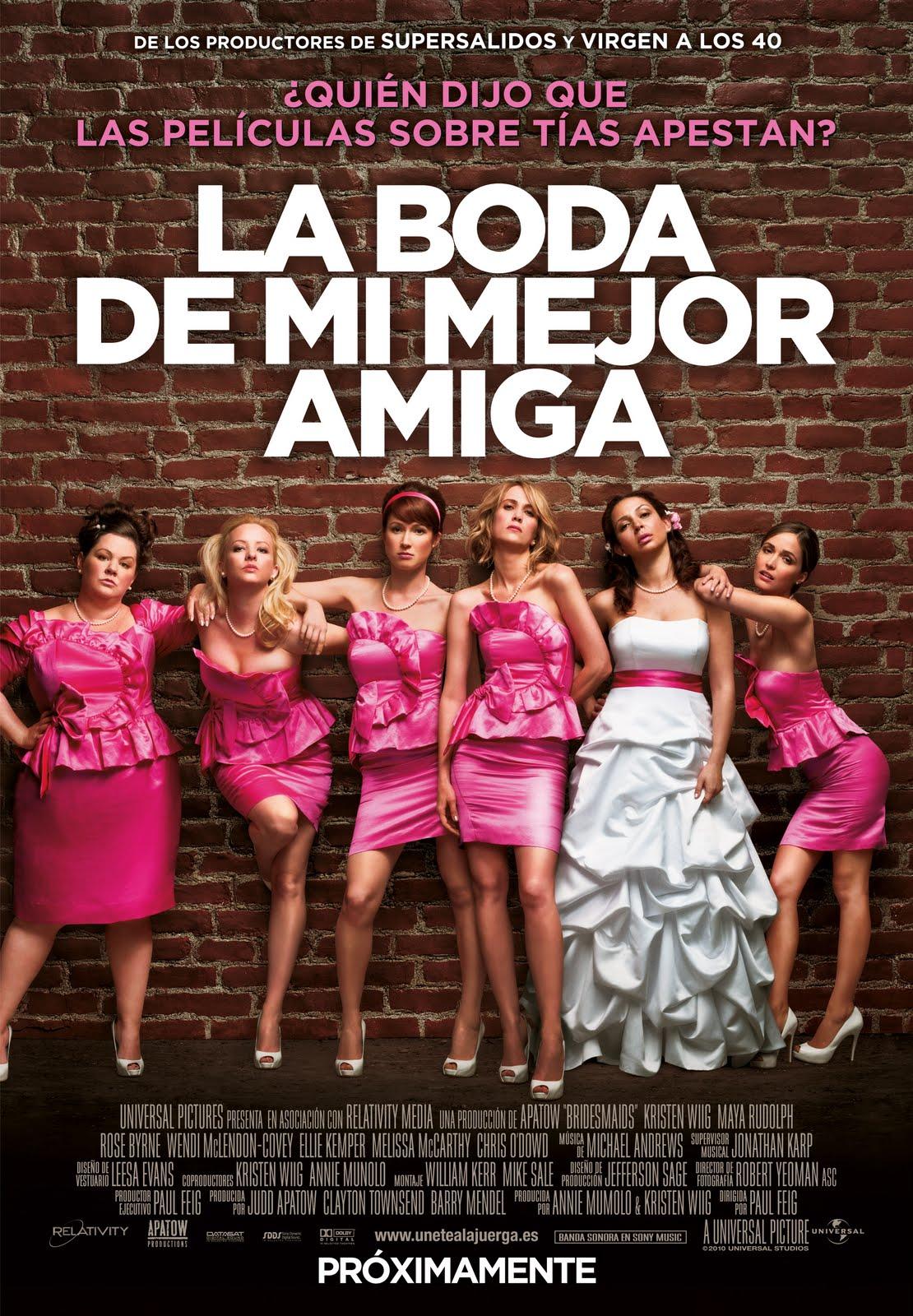 Damas en Guerra (Bridesmaids) (2011)