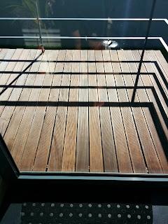 Tratamento Deck de madeira natural