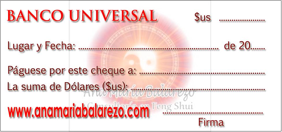 Feng shui el cheque de la abundancia o prosperidad en - Feng shui para la prosperidad ...