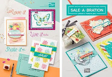 Stampin' Up! Occasions & SAB catalogs!