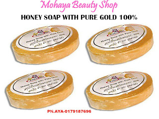HONEY SOaP With PurE GOLd 100 %
