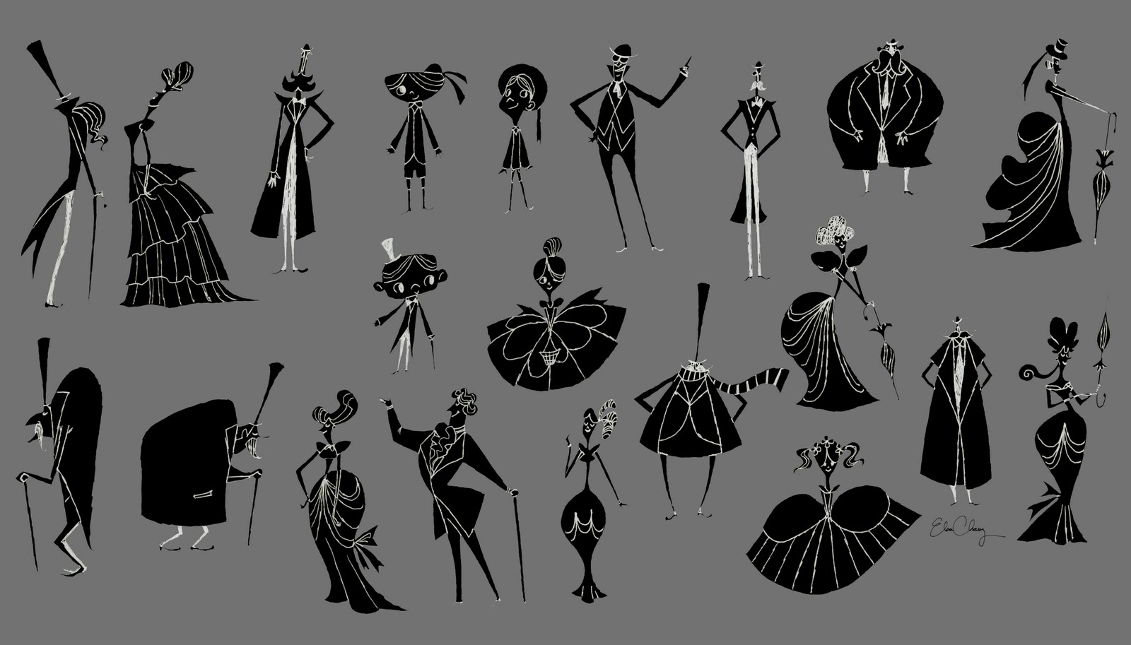 Character Design Interview : Elsa chang interview gallery