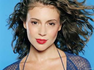 Model Alyssa Milano