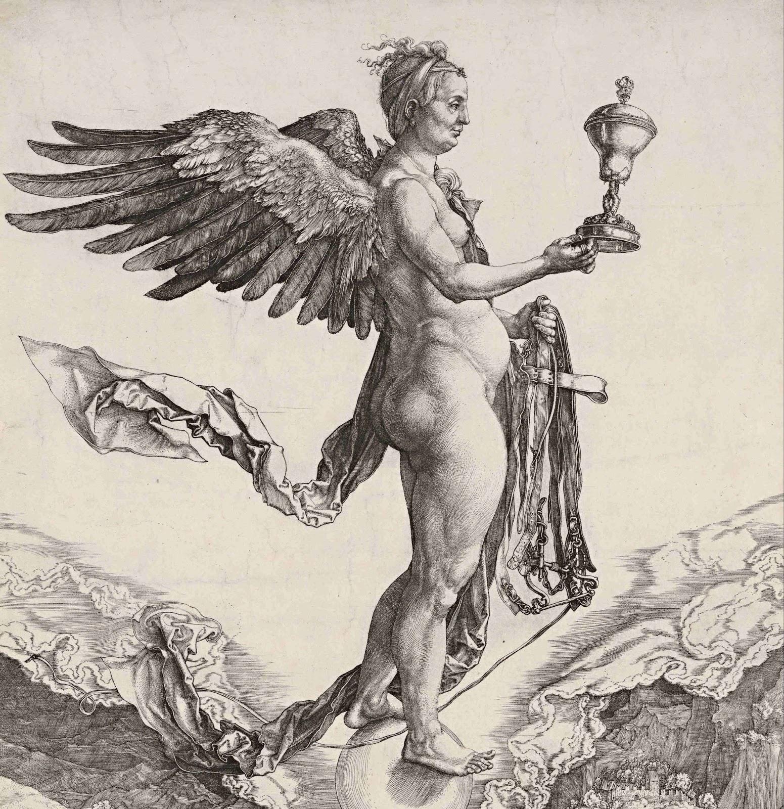 Albrecht Dürer, Nemesis, Google Art Project