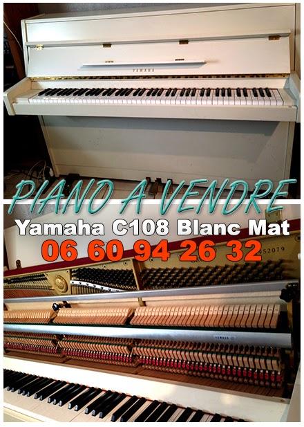 Piano Yamaha à vendre
