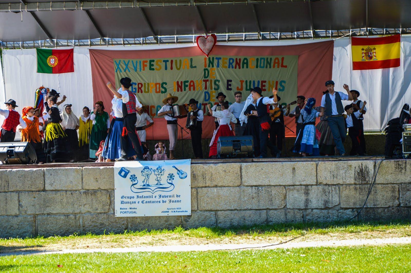 XXVI Festival Internancional de Grupos Infantis e Juvenis de Danças e Cantares Regionais