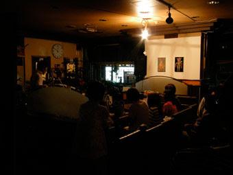 伯剌西爾(ブラジル)コーヒー展の夜