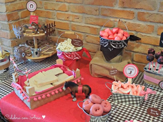 Celebra con ana compartiendo experiencias creativas - Mesa de chuches casera ...
