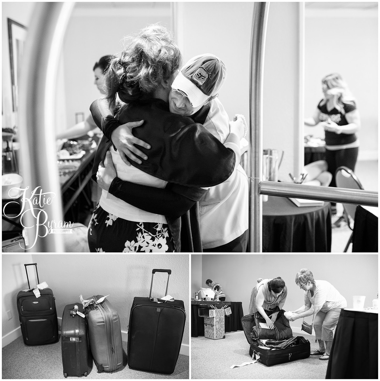 luggage reunited, destination wedding, clearwater beach wedding, hilton clearwater beach wedding, katie byram photography, florida wedding