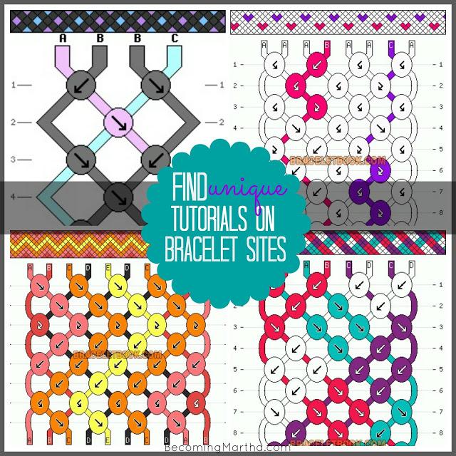 Friendship Bracelet Patterns2