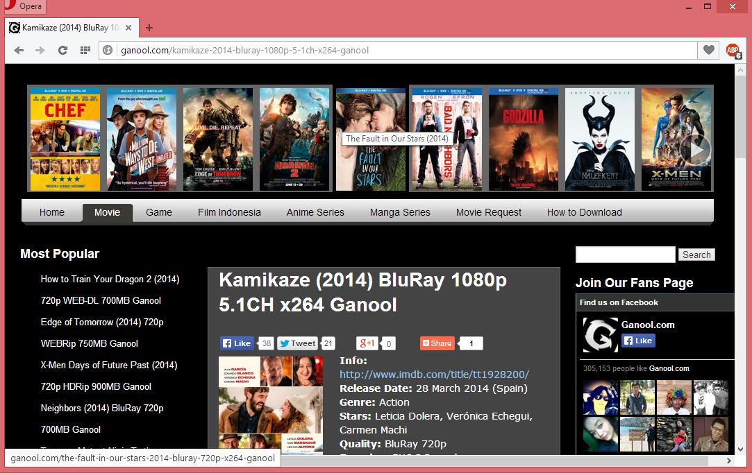 Cara Download Filem di Ganool.com 2