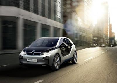 BMW i3 Concept front side