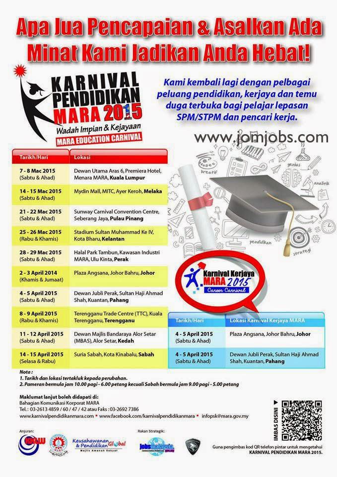 Karnival Kerjaya MARA 2015