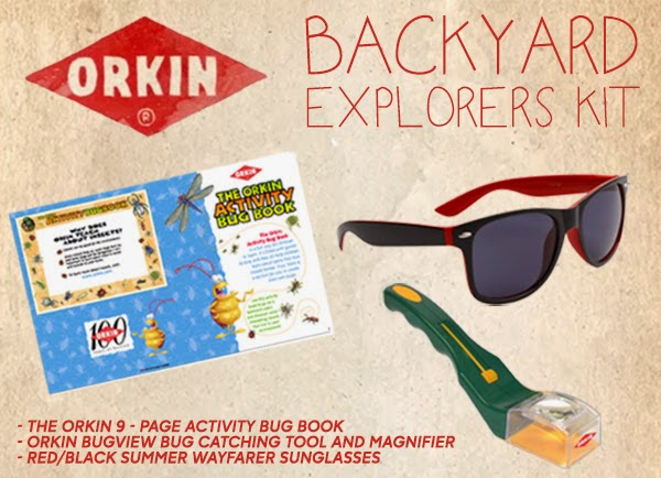 Orkin Bug Wisdom Backyard Explorers Kit Giveaway #BugWisdom
